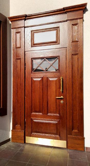 входная дверь особняк