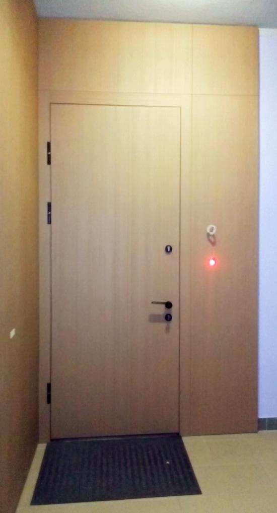 Металлическая дверь в квартиру нестандартного размера