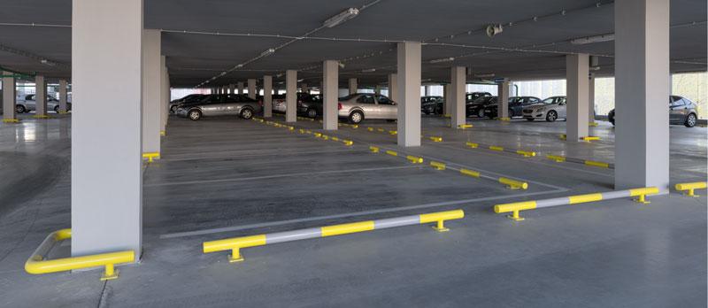 Парковочный отбойник для стоянки парковки