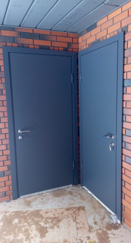 Взломостойкая дверь нестандартного размера