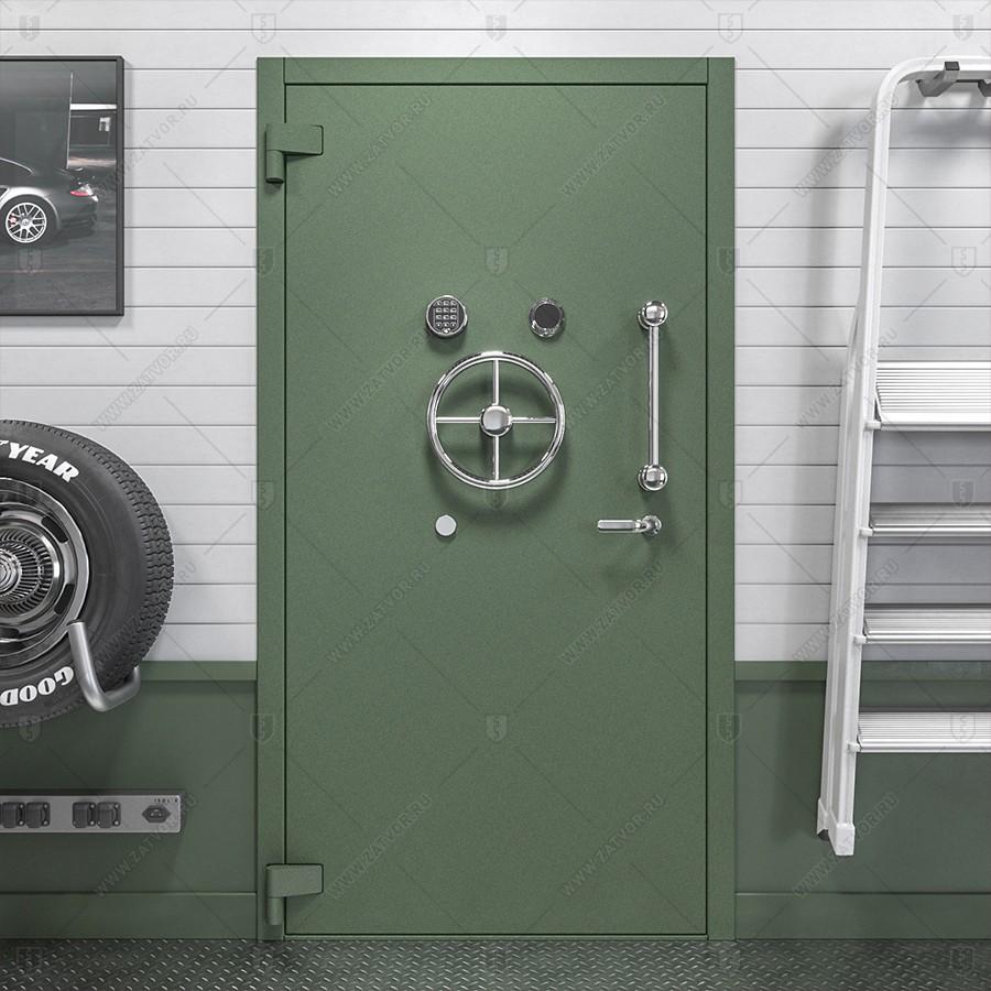 Двери бункерные