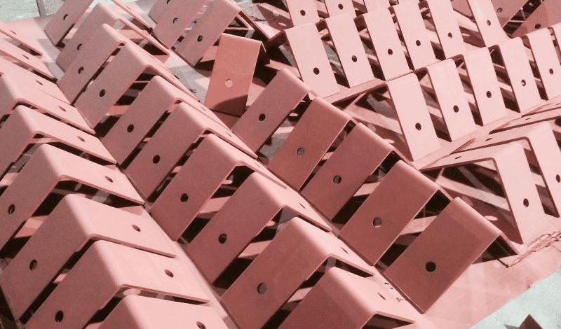 Угловые закладные для строительства Минск